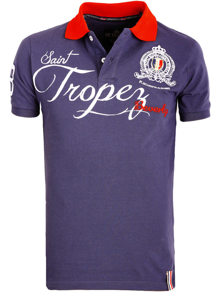 Geographical Norway polo shirt blauw Saint Tropez kleding Beverly Kallian (2)