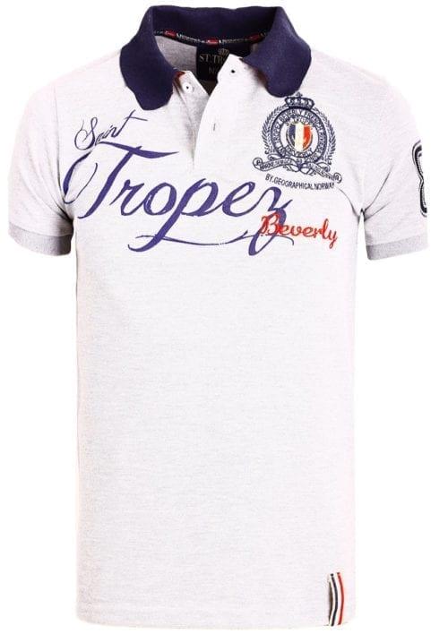 Geographical Norway polo shirt grijs Saint Tropez kleding Beverly Kallian (2)