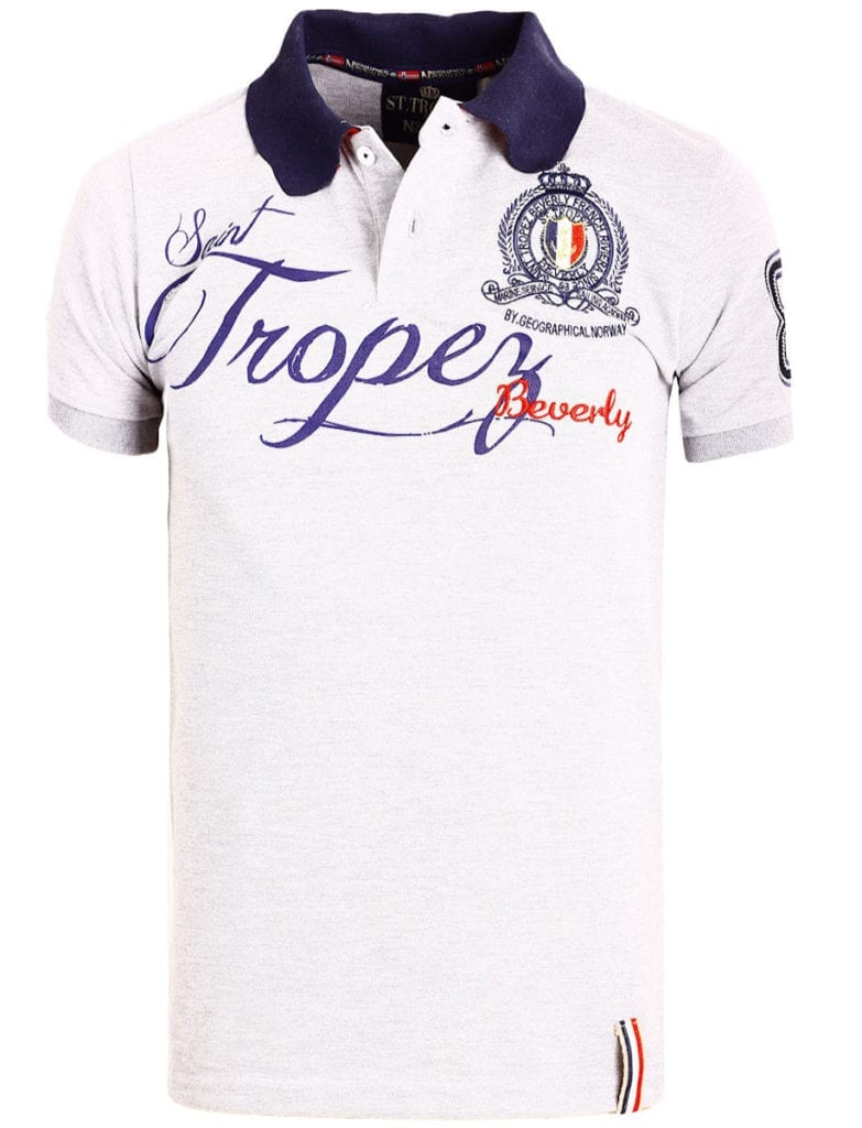 Geographical Norway polo shirt grijs Saint Tropez kleding Beverly Kallian (2)