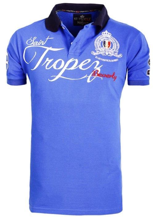 Geographical Norway polo shirt kobalt Saint Tropez kleding Beverly Kallian (2)