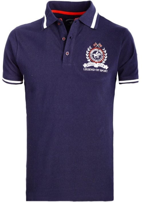 Geographical Norway polo shirt sport blauw Royal Polo Kwell (2)