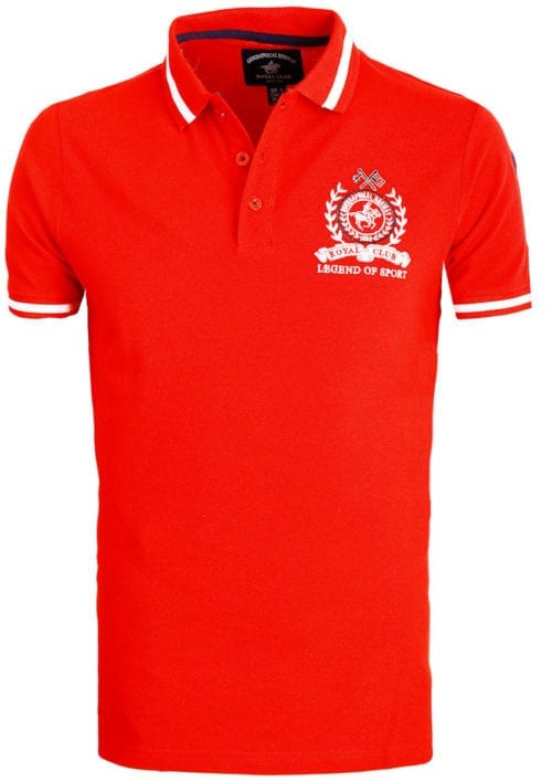 Geographical Norway polo shirt sport rood Royal Polo Kwell (2)