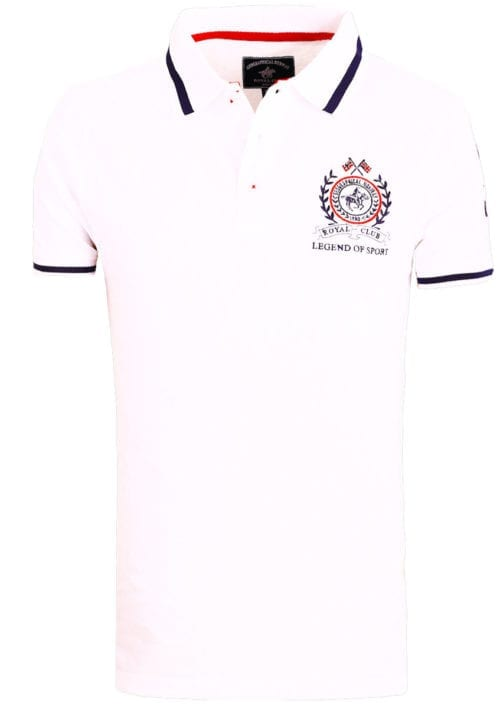 Geographical Norway polo shirt sport wit Royal Polo Kwell (2)