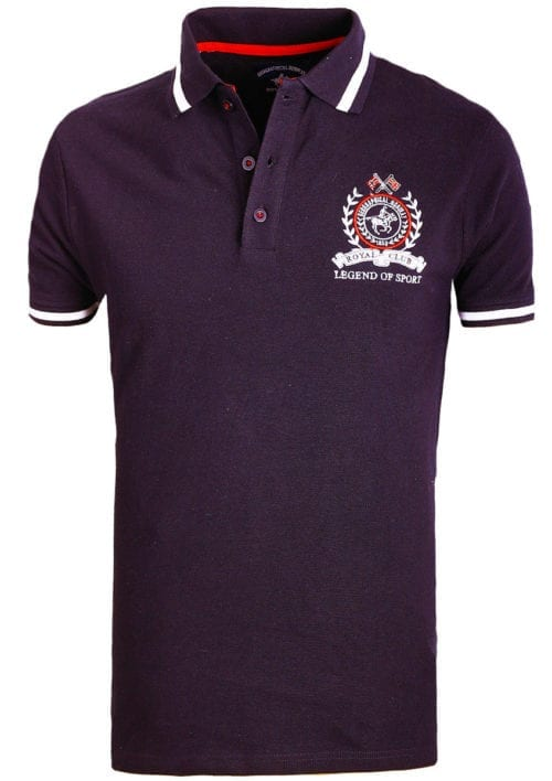 Geographical Norway polo shirt sport zwart Royal Polo Kwell (3)