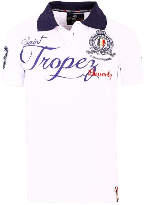 Geographical Norway polo shirt wit Saint Tropez kleding Beverly Kallian (2)