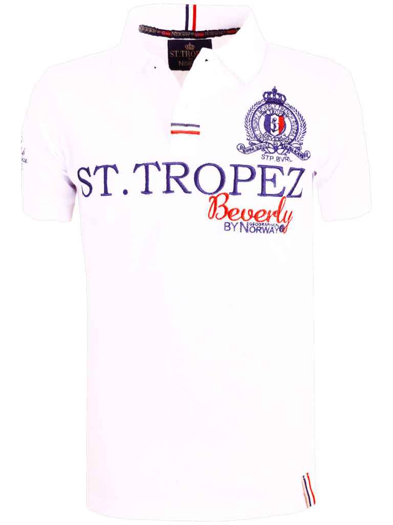 Geographical Norway polo shirt wit Saint Tropez kleding Beverly Karses (2)