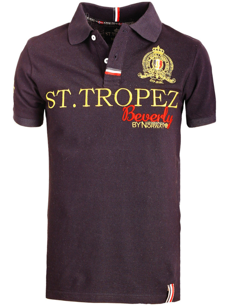 Geographical Norway polo shirt zwart Saint Tropez kleding Beverly Karses (3)