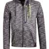 Geographical Norway sweater heren vest Zwart Glassboro (1)