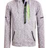 Geographical Norway sweater heren vest grijs Glassboro (1)