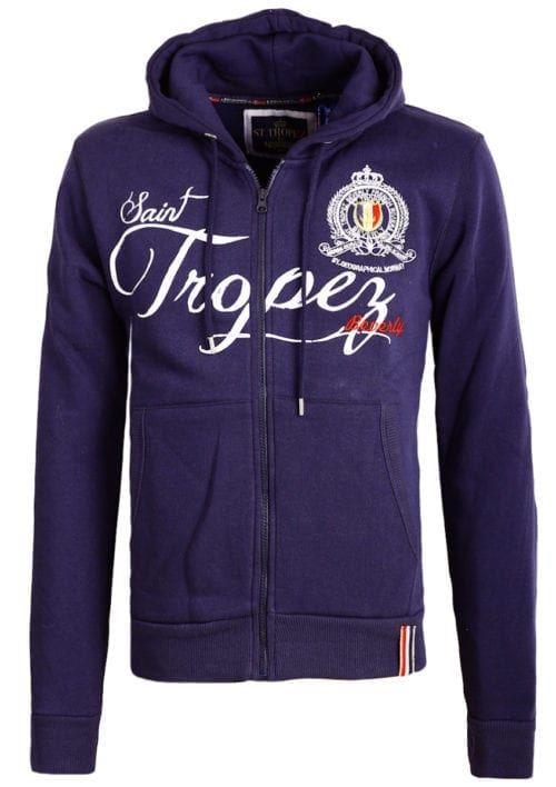 Geographical Norway sweater vest Falluan blauw saint tropez kleding (1)