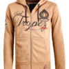 Geographical Norway sweater vest Falluan taupe saint tropez kleding (1)