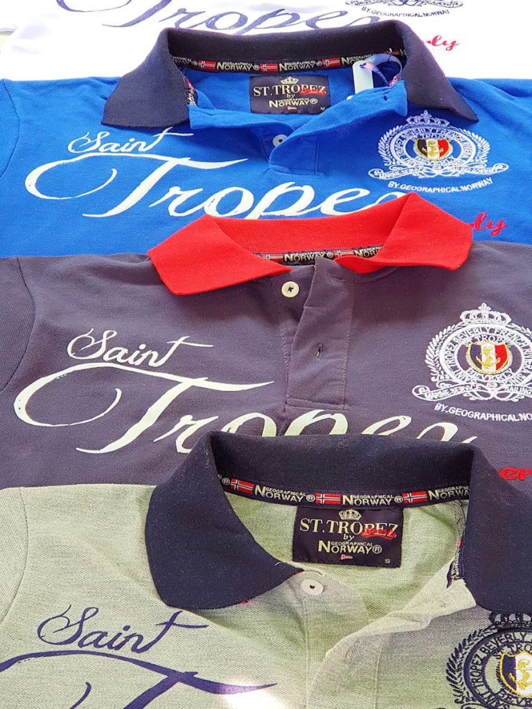 Saint Tropez polo shirts Geographical Norway