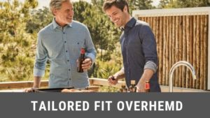 Tailored fit overhemd