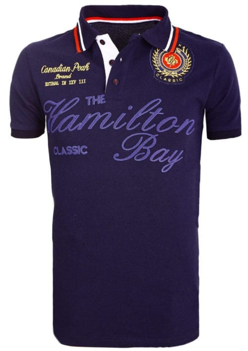 Canadian Peak Polo Shirt Blauw Kamilton The Hamilton Bay Bendelli (2)