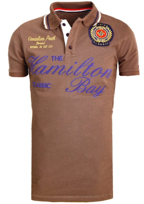 Canadian Peak Polo Shirt Bruin Kamilton The Hamilton Bay Bendelli (1)