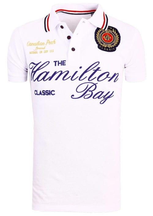 Canadian Peak Polo Shirt Wit Kamilton The Hamilton Bay Bendelli (3)