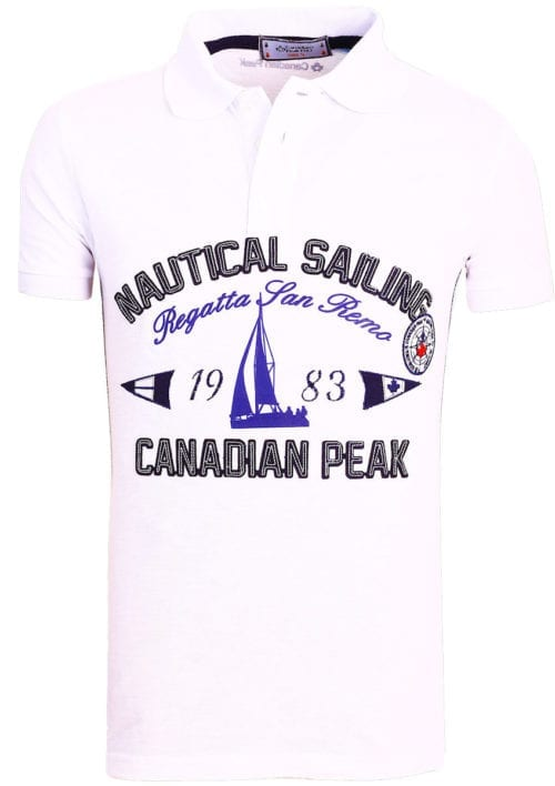 Canadian Peak Polo Shirt Wit Kianni Nautical Sailing Regatta Bendelli (1)