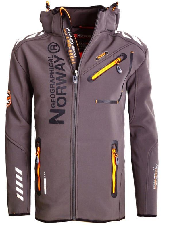 Geographical Norway Jas Softshell Grijs Royaute jacket Bendelli (9)