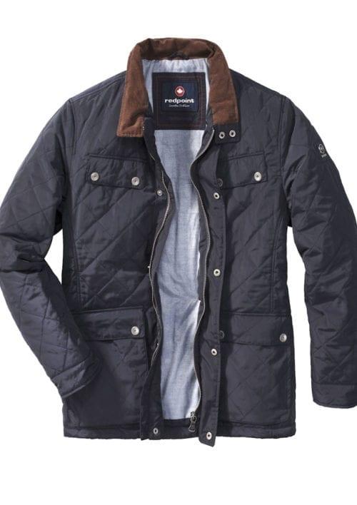 Redpoint jas Blauw Geruit Motief Quentin Canadian Outwear Bendelli (2)