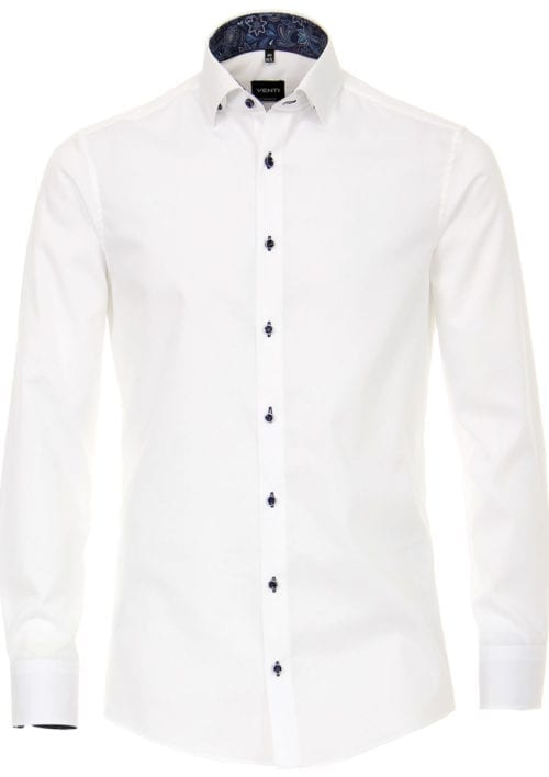 Venti Overhemd wit strijkvrij edition modern fit 193276200-000 Bendelli (1)