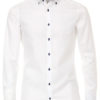 Venti overhemd body fit wit 193279000-000 bendelli
