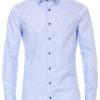 Venti overhemd modern fit blauw 193274600-100 bendelli